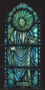 Nine ob dibella window