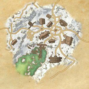 Деревня Бликрок (план)