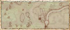 Конюшня Пять всадников (экстерье). План