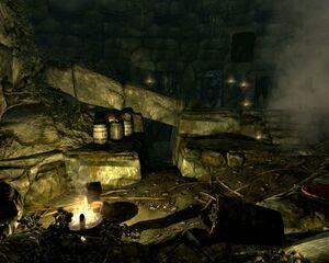 Фальшивый секретный ход Ветхих руин