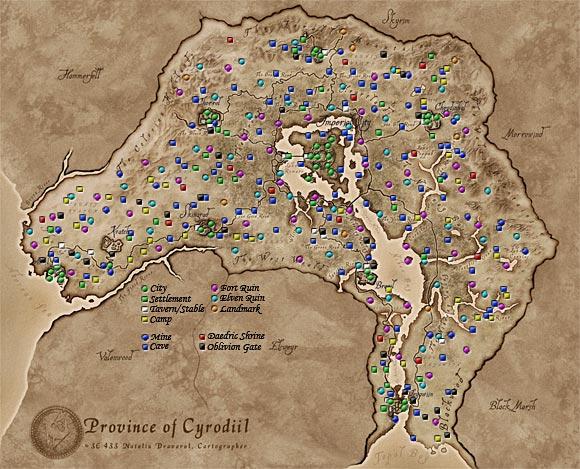Locations Oblivion Elder Scrolls Fandom Powered By Wikia