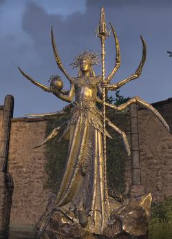 Mephala Spiral Skein Statue