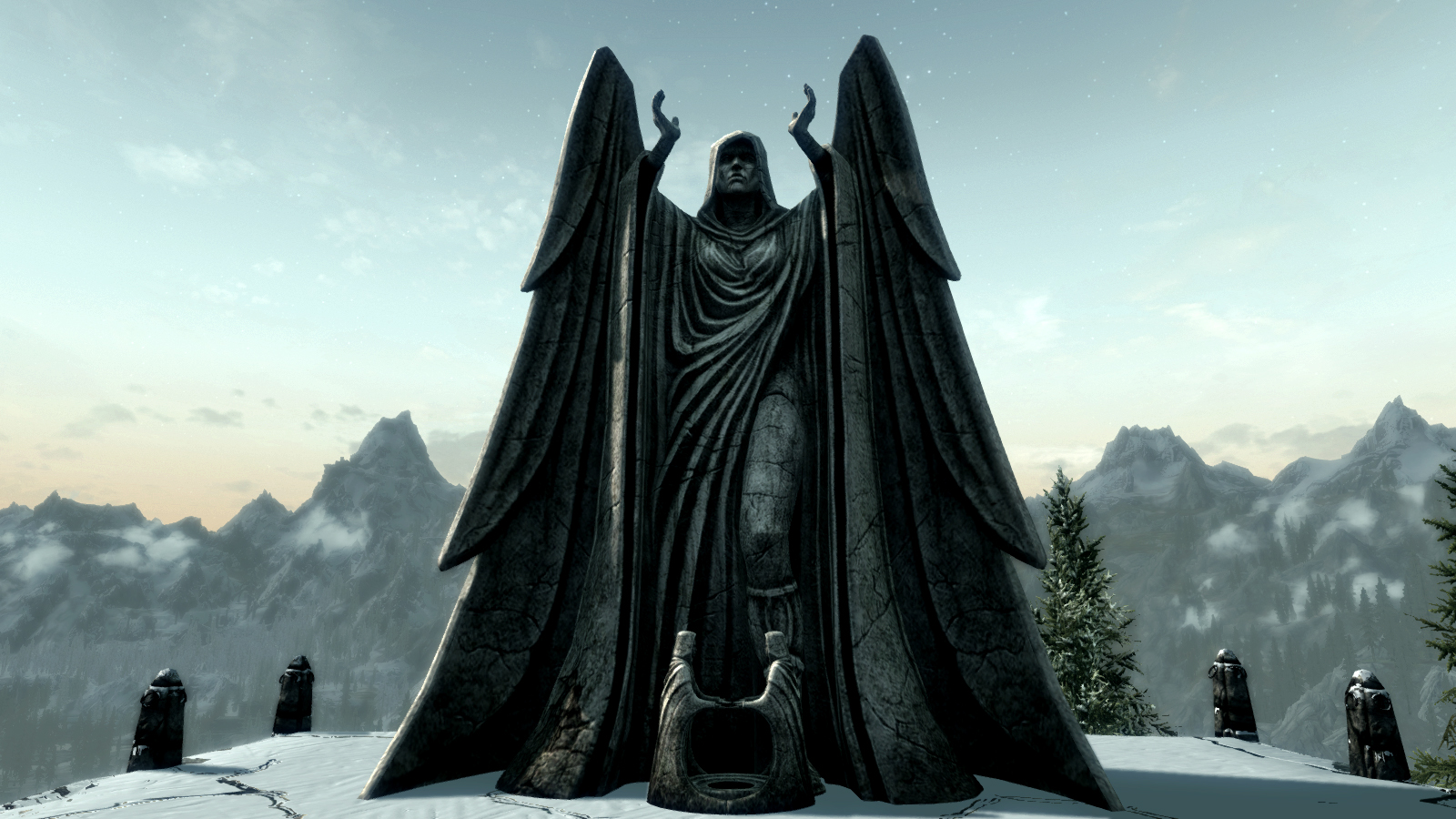 Image result for daedric shrine