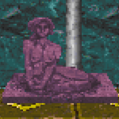 Posąg Dibelli z gry The Elder Scrolls II: Daggerfall