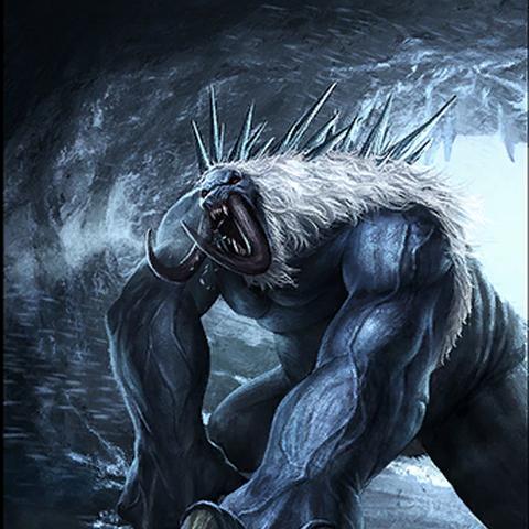 """Karta """"Rozzłoszczony grahl"""" z gry The Elder Scrolls Legends"""