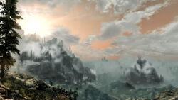 The druadach mountains