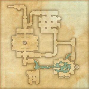 Руины Чёрной Лозы (план)