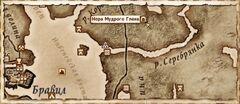 Нора Мудрого Глена. Карта