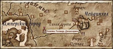 Хижина Роланда map