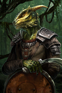 Argonian Recruit card art