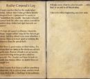Redfur Corporal's Log