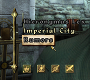 Rumors (Oblivion)