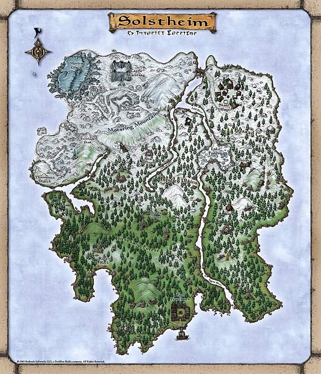 Locations (Bloodmoon) | Elder Scrolls | FANDOM powered by Wikia