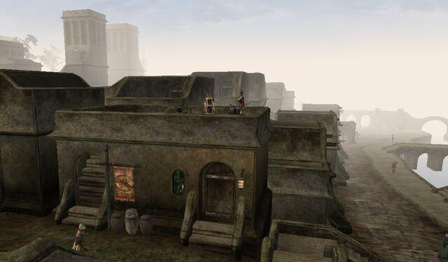 File:TES3 Morrowind - Balmora - Balmora Council Club exterior.jpg