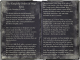 The Knightly Orders of High Rock