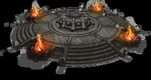 Пьедестал Древнего Свитка (концепт-арт)