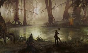 Шедоуфенский пейзаж (концепт-арт)