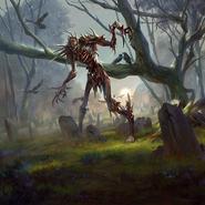 Bonewalker card art