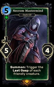 Necrom Mastermind