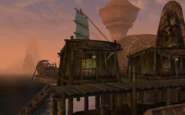 File:TES3 Morrowind - Dagon Fel - Anja Swift-Sailer's House exterior.jpg