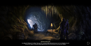 Weeping Wind Cave Loading Screen