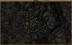 Аванпост Маар Ган. Карта