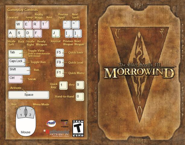 File:The Elder Scrolls III Morrowind Manual.png