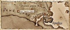 Форт Черного Сапога (Карта)