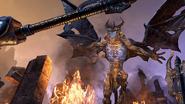 Daedric Titan Attacks