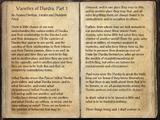 Varieties of Daedra, Part 1