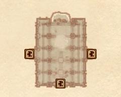 Храм повелителя облаков - большой зал