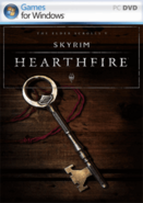 Skyrim Hearthfire PC Cover