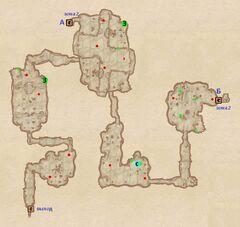 Пещера Эхо. План