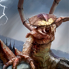 "Karta ""Kąśliwy dreugh"" z gry The Elder Scrolls: Legends"