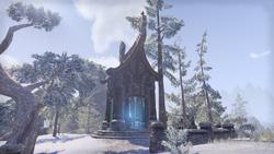 Дорожное святилище форта Морвунскар