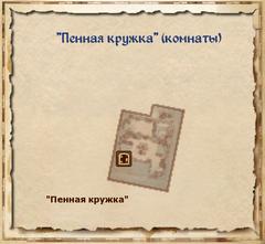 Пенная кружка - комнаты - план