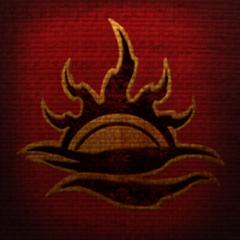 Herb Mehrunesa Dagona ze sztandarów z gry The Elder Scrolls Online