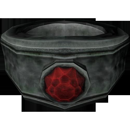 Silver Ruby Ring Skyrim Elder Scrolls