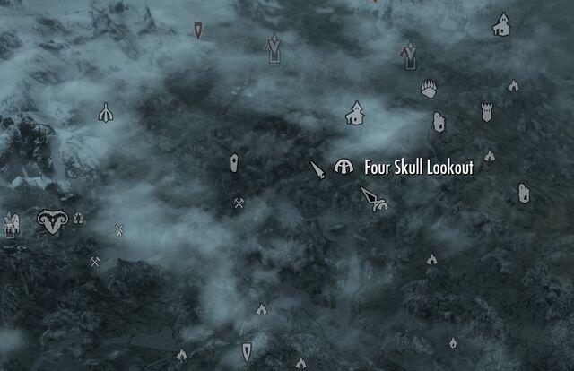 File:Skyrim map Four Skull Lookout.jpg