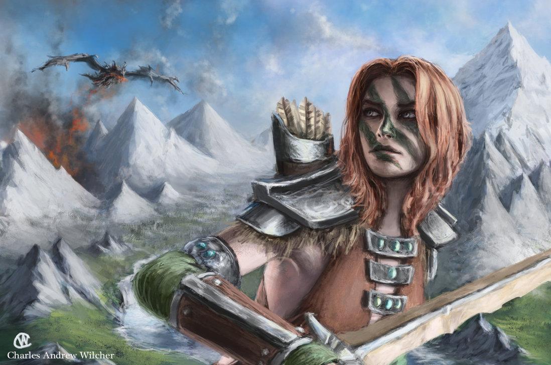 Aela la Cacciatrice | The Elder Scrolls Wiki | FANDOM ...