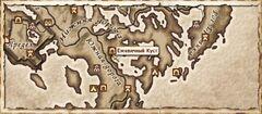 Ежевичный Куст. Карта