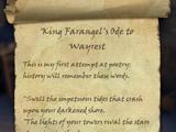 King Farangel's Ode to Wayrest