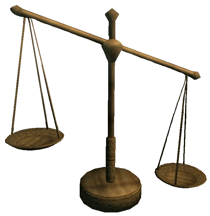 scales of pitiless justice