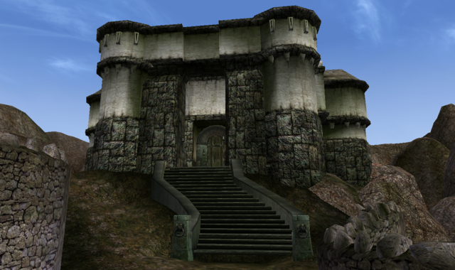File:TES3 Morrowind - Caldera - Governor's Hall exterior.png