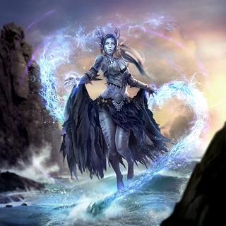 """Karta """"Świadek losu"""" z gry The Elder Scrolls Legends"""