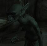 Гоблин в пещере Нижний Предел