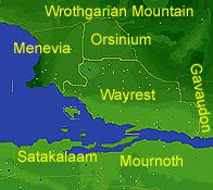 Королевство Вейрест (Карта)