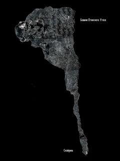 Пещера Отвесный Утёс - план