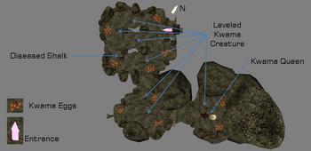 Queen's Lair map