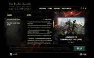 ESO Launcher PTS Morrowind